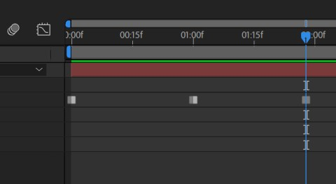 Keyframe Toggle Hold na tela do After
