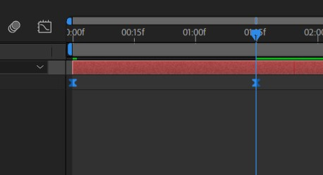 Keyframes ease ease na timeline do After
