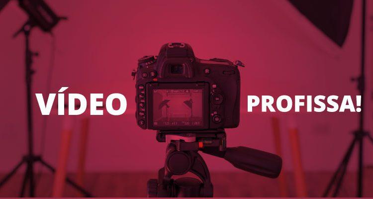 Câmera usada para produzir vídeos incríveis
