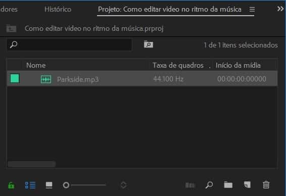 Como editar vídeos no ritmo da música: importando arquivos de áudio para o Premiere