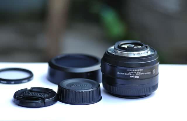 Lentes de câmeras