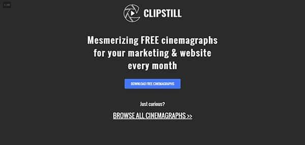 Bancos de vídeo gratuitos: ClipStill