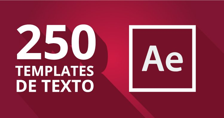 Pack de textos animados para After Effects