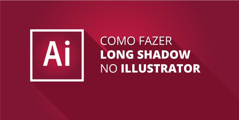 Como criar long shadow no Illustrator